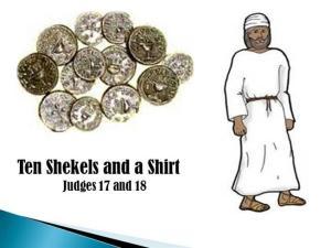 Ten Shekels and a Shirt
