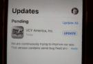 iPhone need update