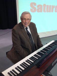 Vic Eliason at the Keyboard