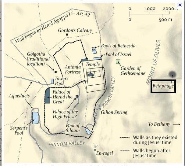 bethphage-church-jerusalem-map