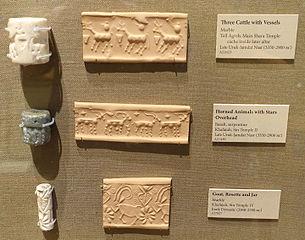 Cylinder_seals_-_Oriental_Institute_Museum,_University_of_Chicago_-_DSC07213